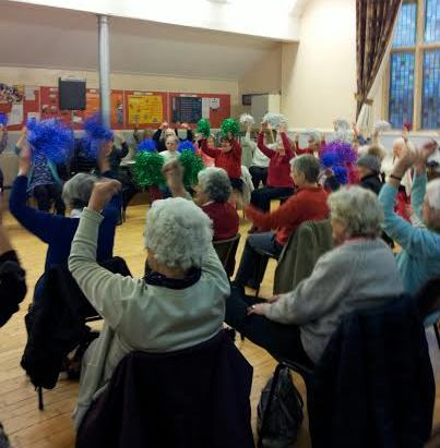 Over 50s Forum - pompoms